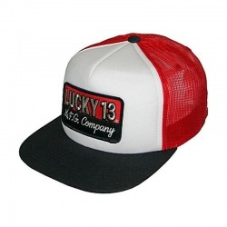CAP TRUCKER LUCKY 13 THE BRICK