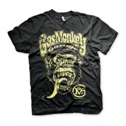 CAMISETA GAS MONKEY FAST ´N LOUD