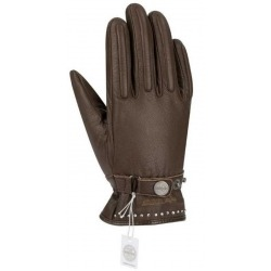 GUANTES SEGURA LADY COX CRYSTAL MARRON