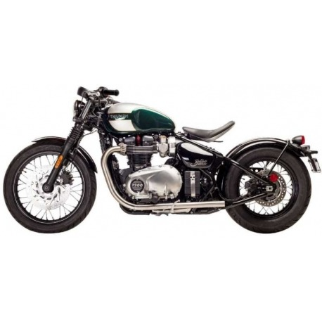 PREDATOR PRO POLISHED EXHAUST TAIL TRIUMPH THRUXTON 900 04-15