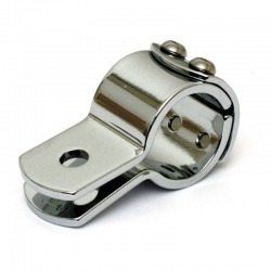 "CHROME 3 PIECE CLAMP 7/8 ""(22 MM)"