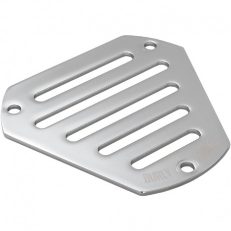 EMBELLISHER AIR FILTER BURLY HEX SLOTTED CHROME