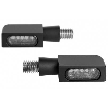 INDICATORS SMD LED HEINZBIKES MICRO BLOKK WITH BRAKE LIGHT AND BLACK POSITION
