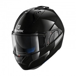 CASCO MODULAR SHARK EVO-ONE 2 NEGRO BRILLO