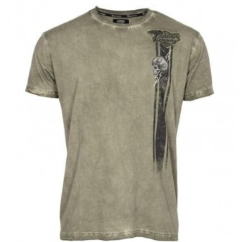 LETHAL THREAT THE LIGHTNING GREEN OLIVE T-SHIRT