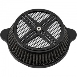 AIR FILTER LA CHOPPERS DESING XXX BLACK HARLEY DAVIDSON SOFTAIL 18-UP