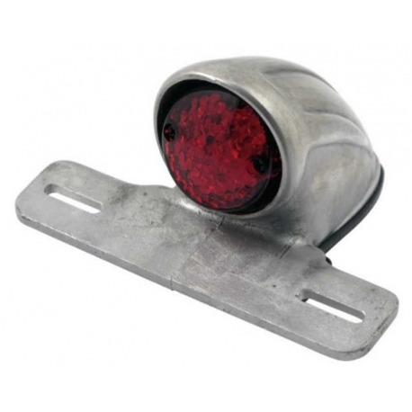REAR LED LIGHT EASYRIDERS EVIL SCALLOP RED LENS