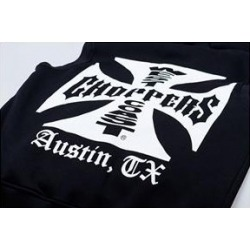 WEST COAST CHOPPER IRON CROSS SWEATSHIRT
