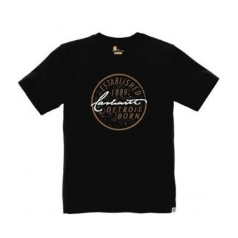 CARHARTT DETROIT BLACK T-SHIRT