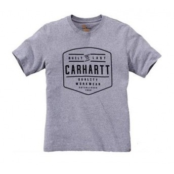 GRAY CARHARTT WORKWEAR T-SHIRT