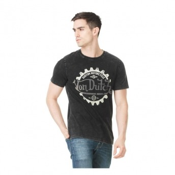 VON DUTCH KEITH BLACK T-SHIRT