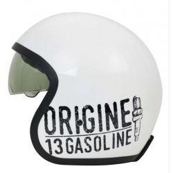 JET ORIGINE SPRINT GASOLINE WHITE HELMET