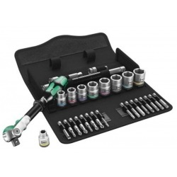 """TOOL KIT 3/8 """"IN 29 PIECES INCHES WERA"""