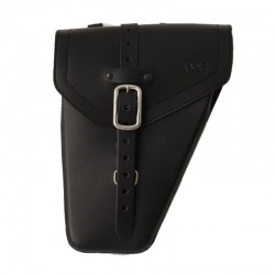 BLACK BASIC GUN LEATHER PAD