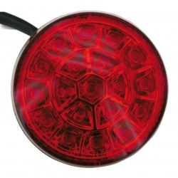 ROULETTE LED REAR PILOT WITH APPROVED BRAKE LIGHT