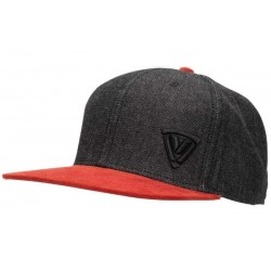 VANUCCI HAT VXM-1 ANTHRACITE AND RED