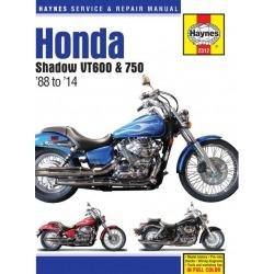 MANUAL REPARACIÓN HAYNES HONDA VT 600,750 88-14