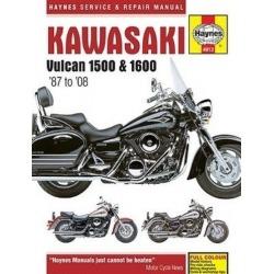 MANUAL REPARACIÓN HAYNES KAWASAKI VN 1500 87-04, 1600 03-08