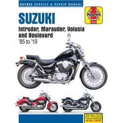 HAYNES SUZUKI INTRUDER, VOLUSIA, BOULEVARD 85-19 REPAIR MANUAL