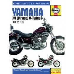 HAYNES YAMAHA VIRAGO 81-03 REPAIR MANUAL