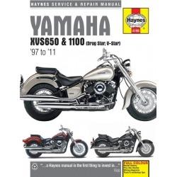 MANUAL REPARACIÓN HAYNES YAMAHA XVS 650,1100 97-11