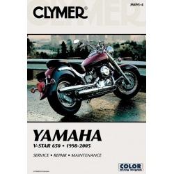 MANUAL DE SERVICIO YAMAHA XVS 650 98-05