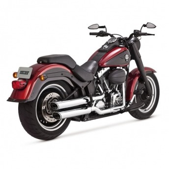 VANCE & HINES EC TWIN SLASH HARLEY DAVIDSON FAT BOY 07-15 EXHAUSTED TAILS