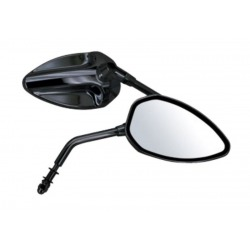 CROSSBACK MIRRORS BLACK APPROVED