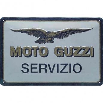 MOTO-GUZZI SERVIZIO GARAGE PLATE
