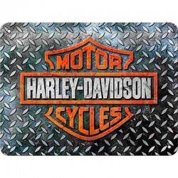 HARLEY DAVIDSON LOGO GARAGE PLATE