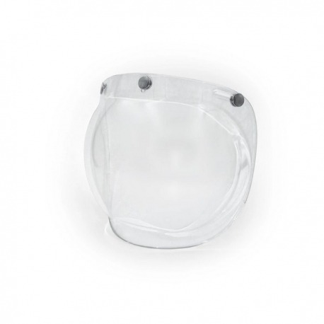 CLEAR BUBBLE SHIELD FOR ANT HELMET