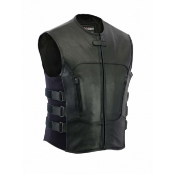 SWATVEST TACTIC LEATHER VEST