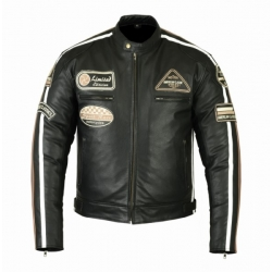 CLASSIC NOIR LEATHER JACKET