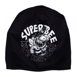 GORRO KING KEROSIN SUPER BEE NEGRO