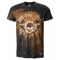 CAMISETA ROUGH CLASSIC CUSTOM RIDE OR DIE DARK RUSTY
