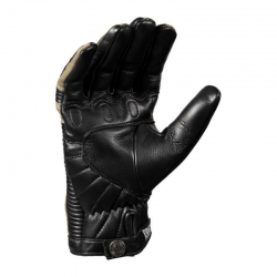 JOHN DOE DURANGO LEATHER GLOVES BLACK / CAMOUFLAGE