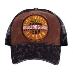 KING KEROSIN TRUCKER CAP LEGENDARY TEAM BLACK/BROWN