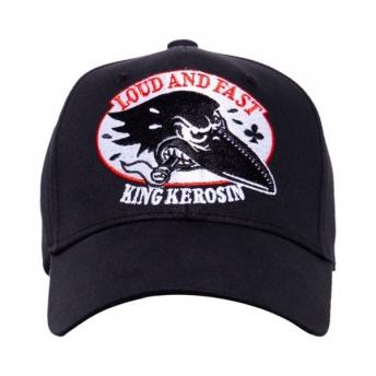 KING KEROSIN LOUD AND FAST TRUCKER CAP BLACK