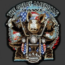 GREAT AMERICAN PATCH HAWG 27.95 cm