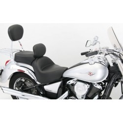 MUSTANG SEAT TOURING KAWASAKI VN 900 V DRIVER WITH BACK