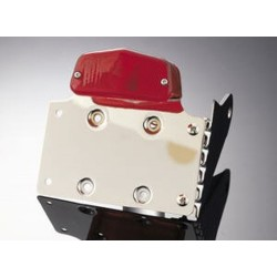 TAILLIGHT LUCAS II WITH plate holder
