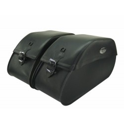 MONSTER SEMI-RIGID SADDLEBAGS MIDNIGHT STAR XV1900 (c 62Lx25ax33A