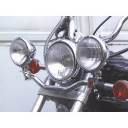SUPPORT AUXILIARY LIGHTS SUZUKI VS600 / 750/800 INTRUDER