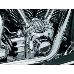 EMBELLECEDOR CROMADO CUBRE BASE DE CILINDROS H-D TWIN CAM 99-UP