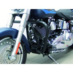 DEFENSE MOTOR 38mm. BLACK TWIN CAM SOFTAIL '07 -UP