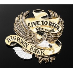 "EMBELLECEDOR EMBLEMA EAGLE ""LIVE TO RIDE"""