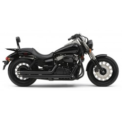 ESCAPE HONDA VT750 PHANTOM COBRA STREETROD SLASHDOWN BLACK