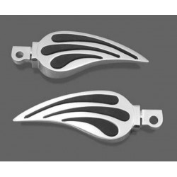 RUBBER INLAY PEGS HARLEY DAVIDSON (various models)