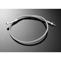 TWISTED STEEL THROTTLE CABLE SUZUKI VS1400 + 15CM