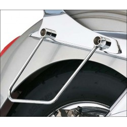SADDLEBAG SUPPORTS COBRA HONDA VTX1300 R / S 03-06